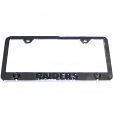 Raiders License Plate Frame