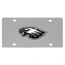 Philadelphia Eagles Stainless Steel License Plate