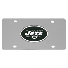 New York Jets Stainless Steel License Plate