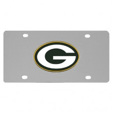 Green Bay Packers Stainless Steel License Plate