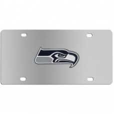 Seattle Seahawks Stainless Steel License Plate