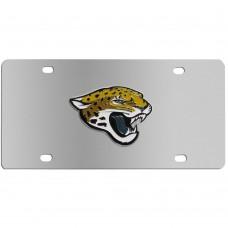 Jacksonville Jaguars Stainless Steel License Plate