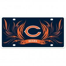 Bears Flame License Plate