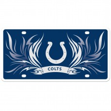 Colts Flame License Plate