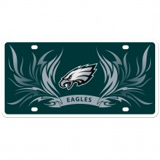 Eagles Flame License Plate