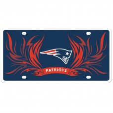Patriots Flame License Plate