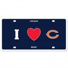 I Love Bears License Plate