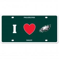 I Love Eagles License Plate