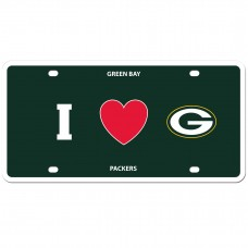 I Love Packers License Plate