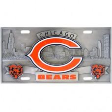 Chicago Bears - 3D NFL License Plate