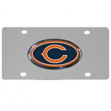 Chicago Bears Steel License Plate