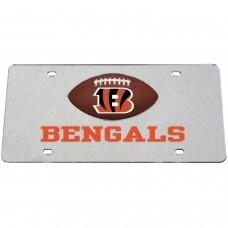 Cincinnati Bengals Mirrored License Plate