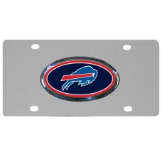 Buffalo Bills Oval Logo Stainless Steel License Plate