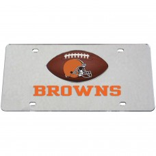 Cleveland Browns Mirrored License Plate