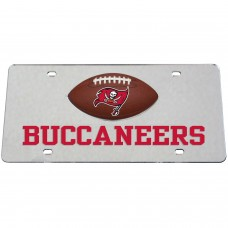 Tampa Bay Buccaneers Mirrored License Plate