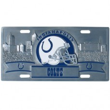 Indianapolis Colts - 3D NFL License Plate