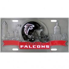 Atlanta Falcons - 3D NFL License Plate