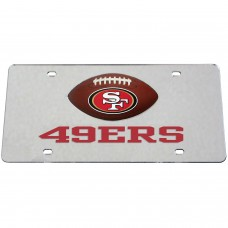 San Francisco 49ers Mirrored License Plate