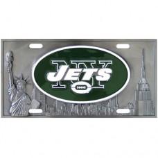 New York Jets - 3D NFL License Plate
