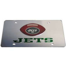 New York Jets Mirrored License Plate