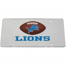 Detroit Lions  Mirrored License Plate