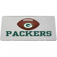 Green Bay Packers Mirrored License Plate