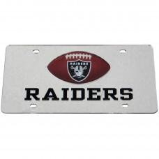 Oakland Raiders Mirrored License Plate