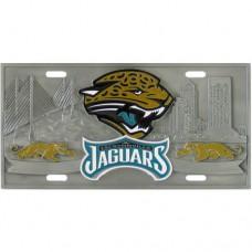 Jacksonville Jaguars - 3D NFL  License Plate