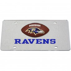 Baltimore Ravens Mirrored License Plate