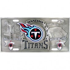 Tennessee Titans - 3D NFL License Plate