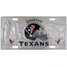 Houston Texans - 3D NFL License Plate