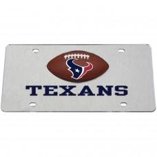 Houston Texans Mirrored License Plate