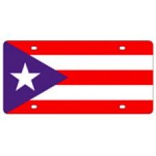 Puerto Rico Flag License Plates