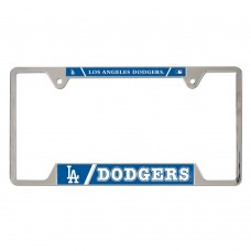 los angeles dodgers metal license plate frame
