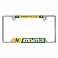 Oakland A's Metal License Plate Frame