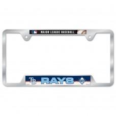 Tampa Bay Rays Metal License Plate Frame