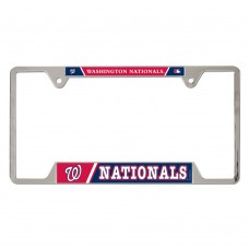 Washington Nationals Metal License Plate Frame