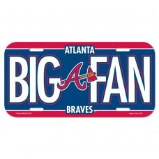 Atlanta Braves License Plate