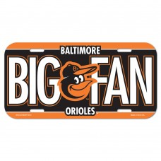 Baltimore Orioles License Plate
