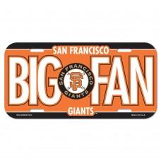San Francisco Giants License Plate