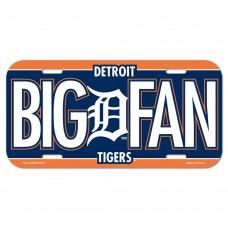 Detroit Tigers License Plate