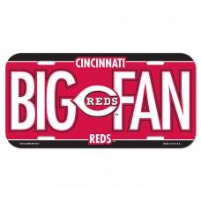 Cincinnati Reds License Plate