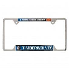 Minnesota Timberwolves Metal License Plate Frame