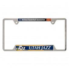 Utah Jazz Metal License Plate Frame