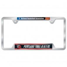 Portland Trail Blazers Metal License Plate Frame