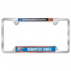 Oklahoma City Thunder Metal License Plate Frame