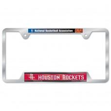 Houston Rockets Metal License Plate Frame