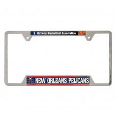 New Orleans Pelicans Metal License Plate Frame