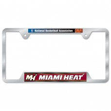 Miami Heat Metal License Plate Frame