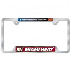 Miami Heat Metal License Plate Frame